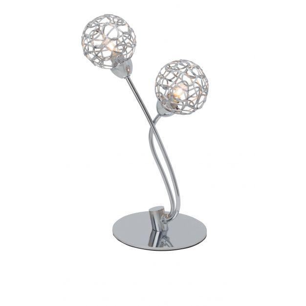 Virgo tafellamp - chroom