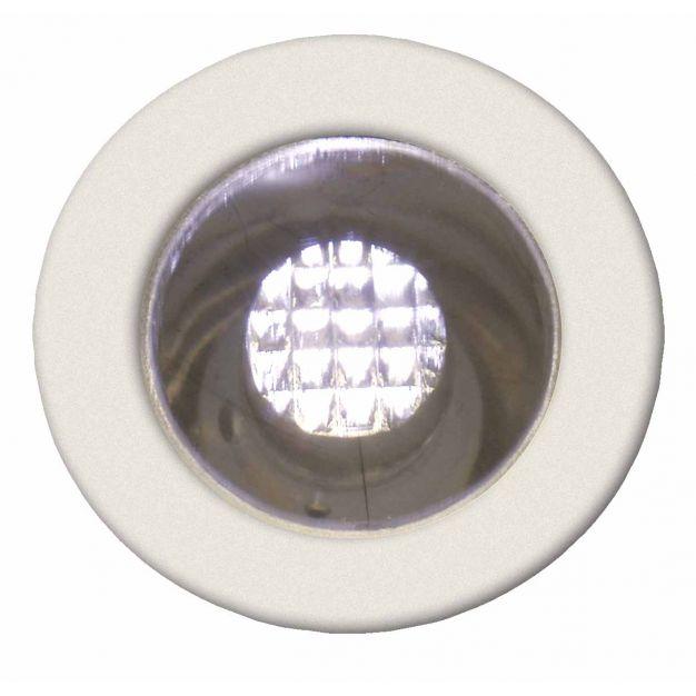 Brilliant Kozi 15 - set van 10 - inbouwspot - Ø 15 mm, Ø 12 mm inbouwmaat - 0,07W LED incl. - warm wit