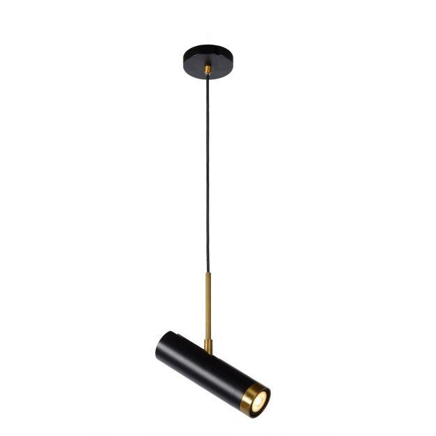Lucide Selin - hanglamp - 10 x 10 x 155cm - zwart