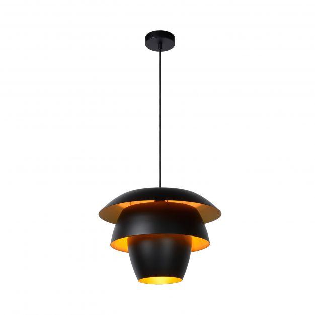 Lucide Jericho - hanglamp - Ø 38 x 162 cm - zwart