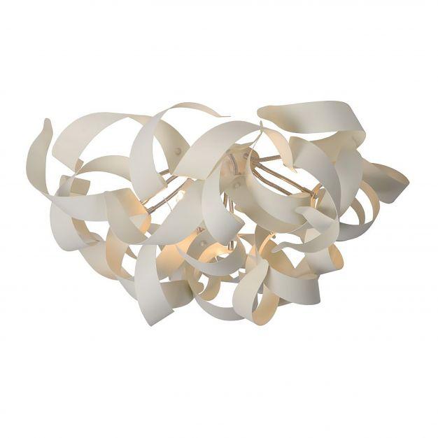 Lucide Atoma - plafondverlichting - 65 x 35 x 65 cm - wit