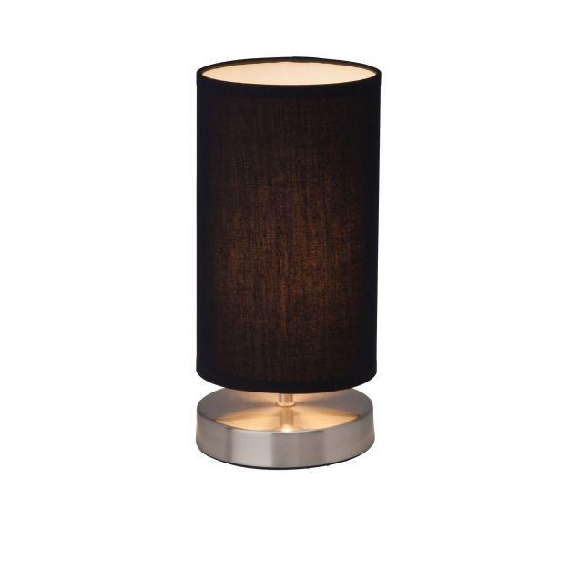 Brilliant Clarie - tafellamp - 25,5 cm - zwart