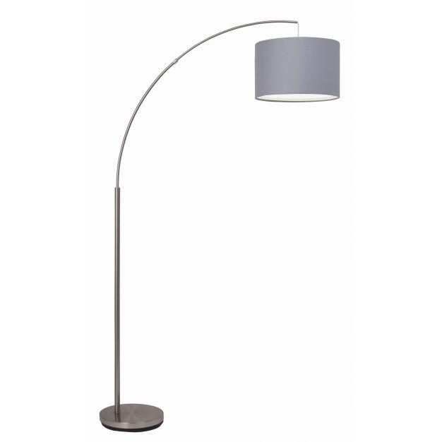 Brilliant Clarie - staanlamp - 180 cm - grijs