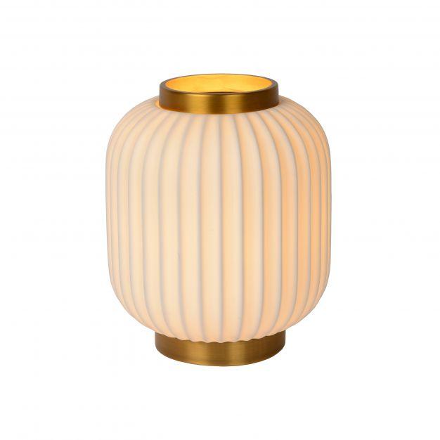 Lucide Gosse - tafellamp - Ø 19,5 x 23,8 cm - wit