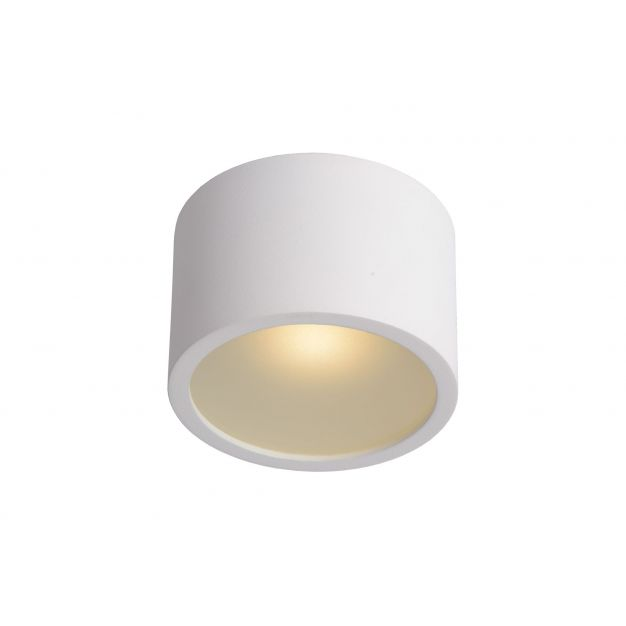 Lucide Lily Round - opbouwspot - Ø 8,9 x 6 cm - IP54 - wit