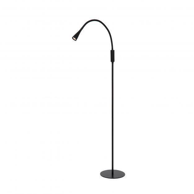 Lucide Zozy - staanlamp - 51 cm - 3 stappen dimbaar - 3W LED incl. - zwart