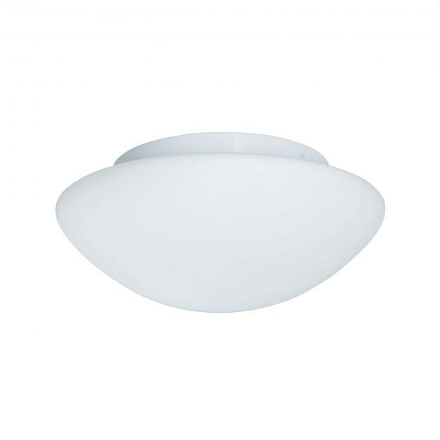 Searchlight Bathroom Flush – plafondverlichting - Ø 23 x 10 cm - IP44 - wit