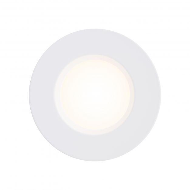 Nordlux Mahi 1-Kit - inbouwspot - Ø 8,5 x 4,5 cm - 8,5W LED incl. - IP65 - wit