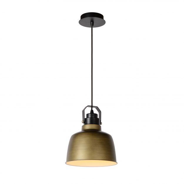 Lucide Naut - hanglamp - Ø 21 x 152 cm - brons