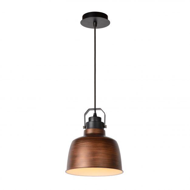Lucide Naut - hanglamp - Ø 21 x 152 cm - koper