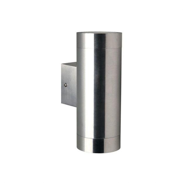 Nordlux Tin Maxi - buiten wandverlichting - 7,6 x 19 x 12,5 cm - IP54 - roestvrij staal