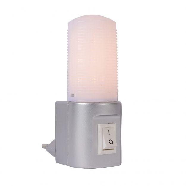 Lucide Night Light - nachtlamp - 7 x 4 x 10 cm - 3.5W LED incl. - grijs