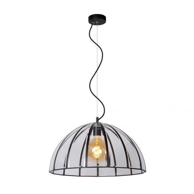 Lucide Timius - hanglamp - Ø 50 x 163 cm - zwart