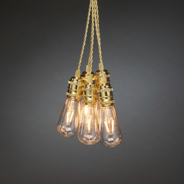 Konstsmide - decoratieve lichtsnoer - 850cm - 8 lampen - goud