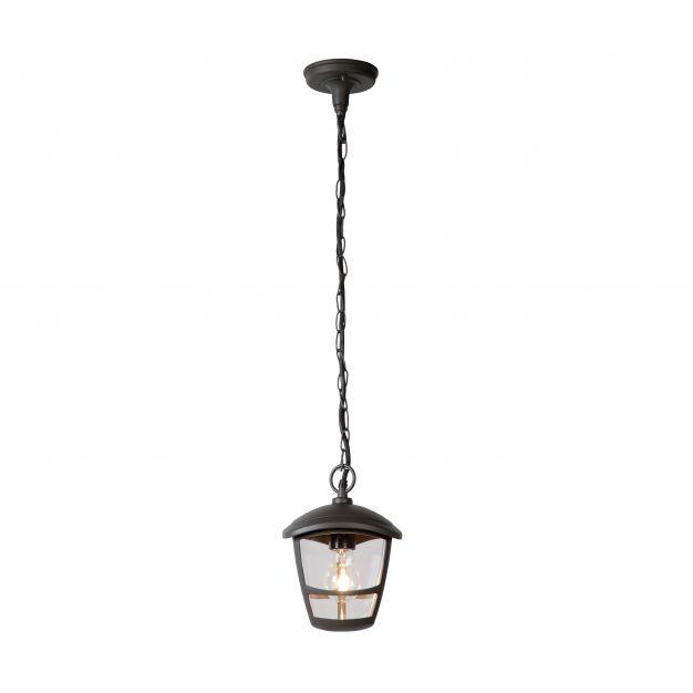 Lucide Istro - buiten hanglamp - Ø 16 x 85 cm - IP44 - zwart