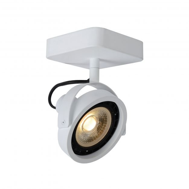 Lucide Tala LED - opbouwspot 1L - 12 x 12 x 20 cm - 12W dimbare LED incl. - wit