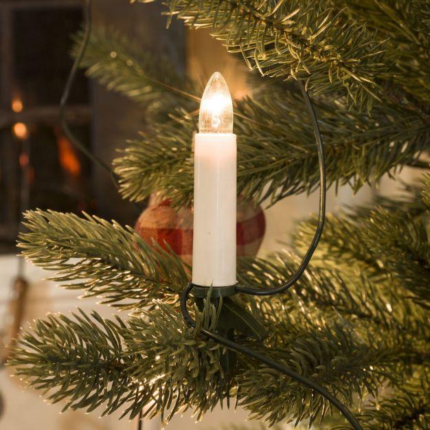 Konstsmide kerstverlichting - LED kaarsen set - 825 cm - 16 stuks - wit