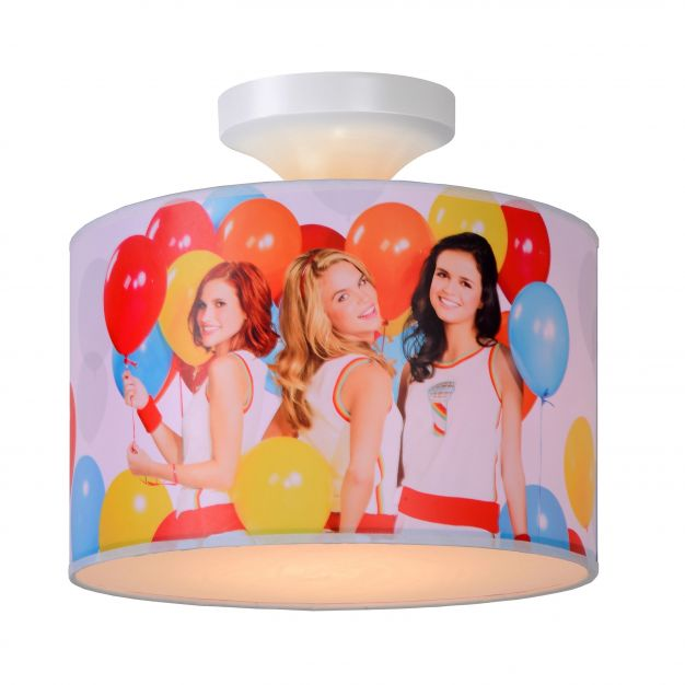Lucide K3 - kinderkamer plafondverlichting - Ø 30 x 20 cm - wit