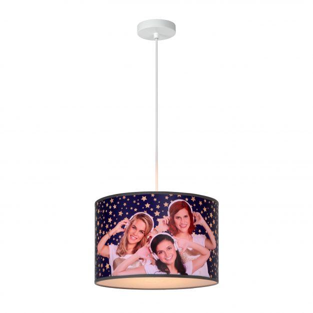Lucide K3 - kinder hanglamp - Ø 30 x 150 cm - paars