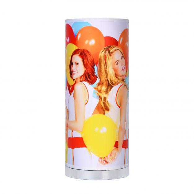 Lucide K3 - kinderkamer tafellamp - 36 cm - 5W LED incl. - wit