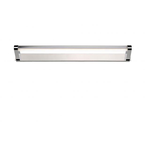 Lucide Alpa - spiegelverlichting - 61,2 x 10,6 x 4,8 cm - 10W LED incl. - IP44 - chroom