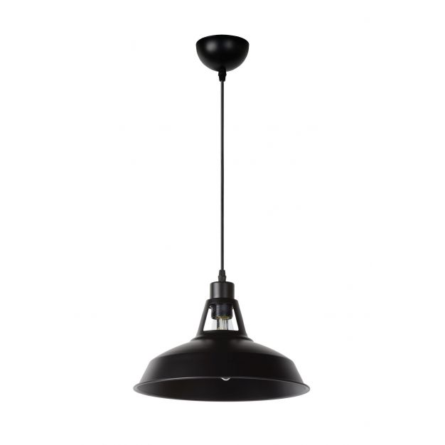 Lucide Brassy-bis - hanglamp - Ø 31 x 149 cm - zwart