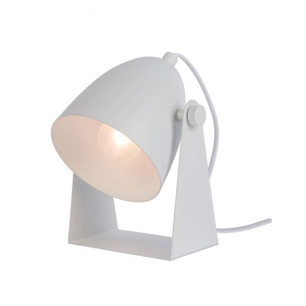 Lucide Chago - tafellamp - 19 cm - wit
