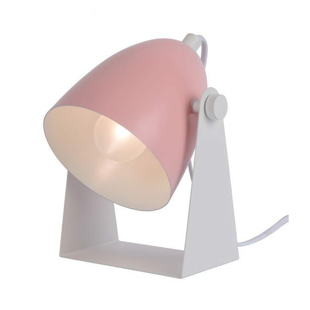Lucide Chago - tafellamp - 19 cm - roze