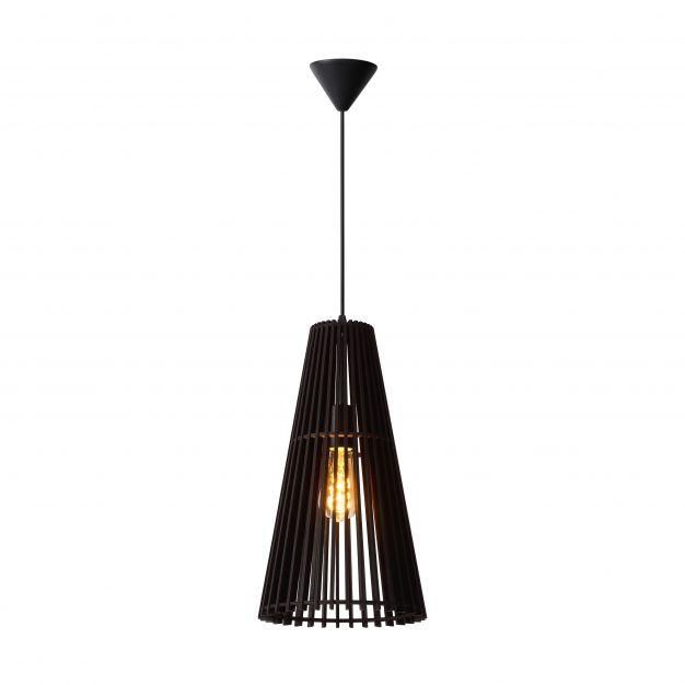 Lucide Noralie - hanglamp - Ø 25 x 175 cm - zwart