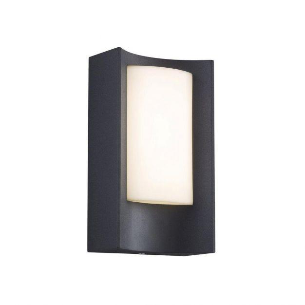 Nordlux Aspen - buiten wandverlichting - 11 x 20 x 6,3 cm - 6W LED incl. - IP44 - zwart