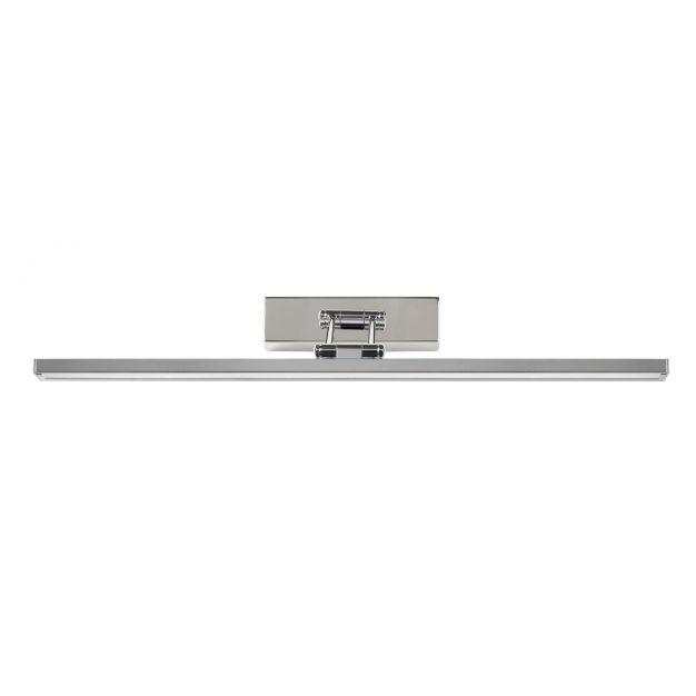 Lucide Erwan - kantelbare spiegellamp - 57 cm - 12W LED incl. - IP21 - chroom