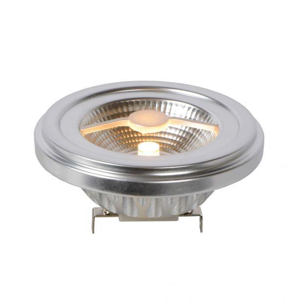 Lucide LED QR111 dimbaar - G53 - 10W - 2700K - mat chroom
