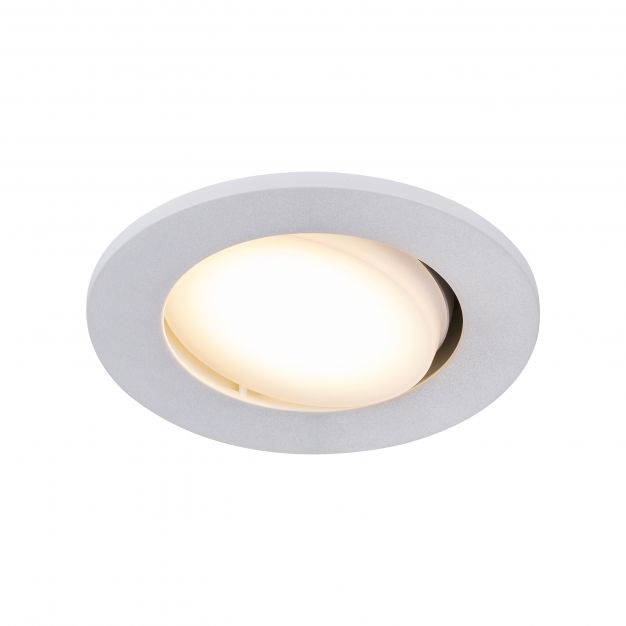 Nordlux Leonis - set van 3 - Ø 85 mm, Ø 68 mm inbouwmaat - 4,5W LED incl. - IP23 - wit