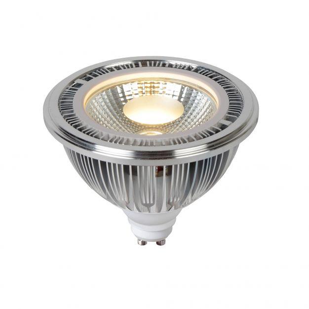 Lucide LED-spot AR111 - GU10 - 12W niet dimbaar - 2700K - zilver