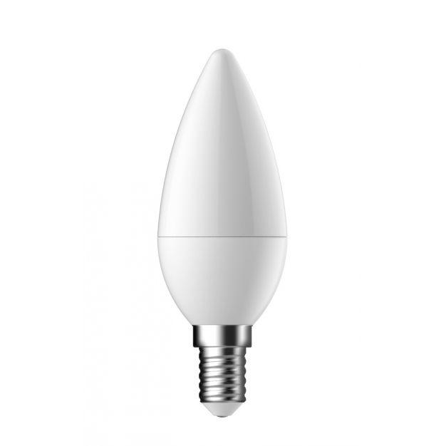 LED-lamp - E14 - 3,5W - warm wit (einde reeks)