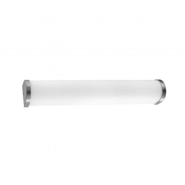 Nova Luce Polo - spiegellamp - 50 x 4 x 8 cm - IP44 - opaal