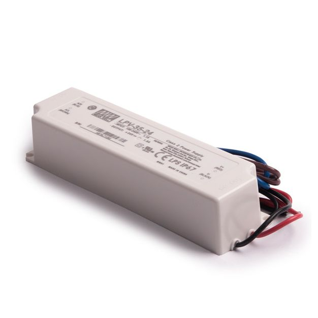 Mean Well LED driver - 24Vdc/230V - IP67 - 36W