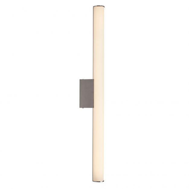 Brilliant Tube - plafond/wandlamp - 60 x 11 cm - 17W LED incl. - wit & chroom