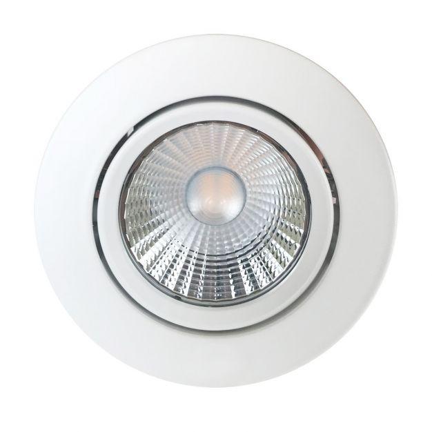 Nordlux Apollo - inbouwspot - 5,5W dimbare LED incl. - Ø 85 mm, Ø 72 mm inbouwmaat - IP23 - wit