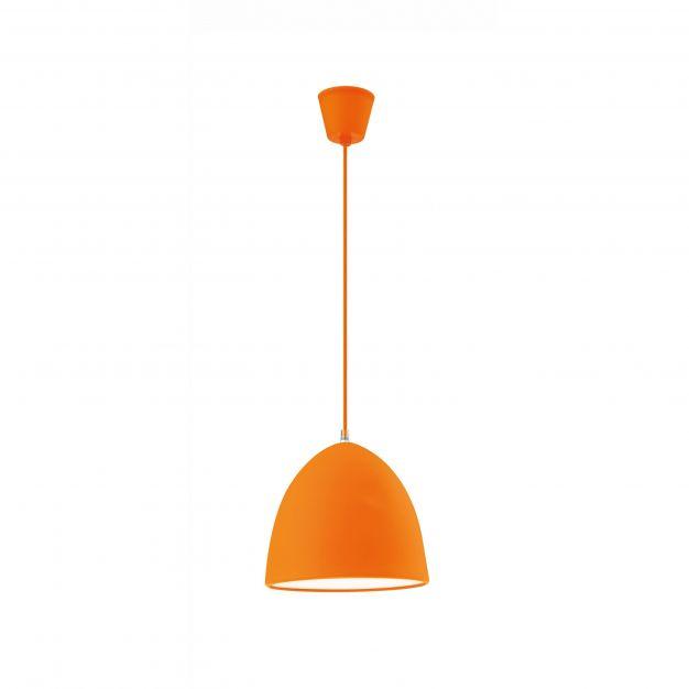 Nova Luce Colori - hanglamp - Ø 22 x 120 cm - oranje