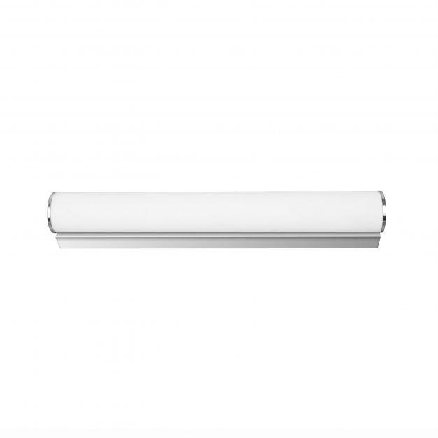 Nova Luce Polo - spiegellamp - 30 x 8 x 6 cm - 5W LED incl. - IP44 - opaal