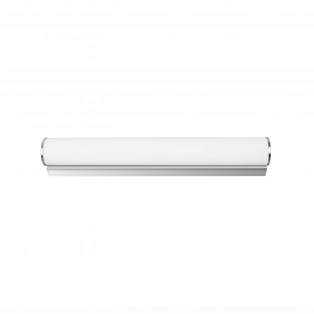 Nova Luce Polo - spiegellamp - 50 x 8 x 6 cm - 12W LED incl. - IP44 - opaal