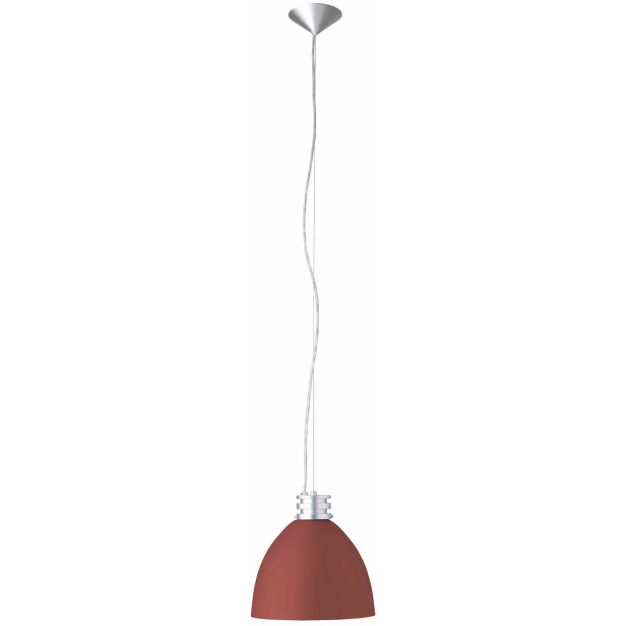 Brilliant Tibers - hanglamp - Ø 25,5 x 125 cm - rood (laatste stuk!)