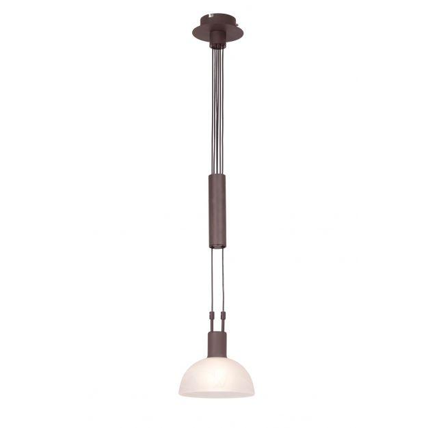Amar hanglamp 1 - bruin