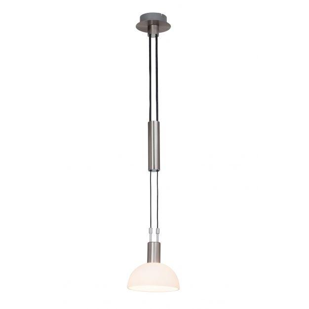 Amar hanglamp 1 - satijn chroom