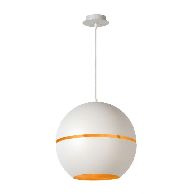 Lucide Binari - hanglamp -  Ø 35 x 162 cm - wit