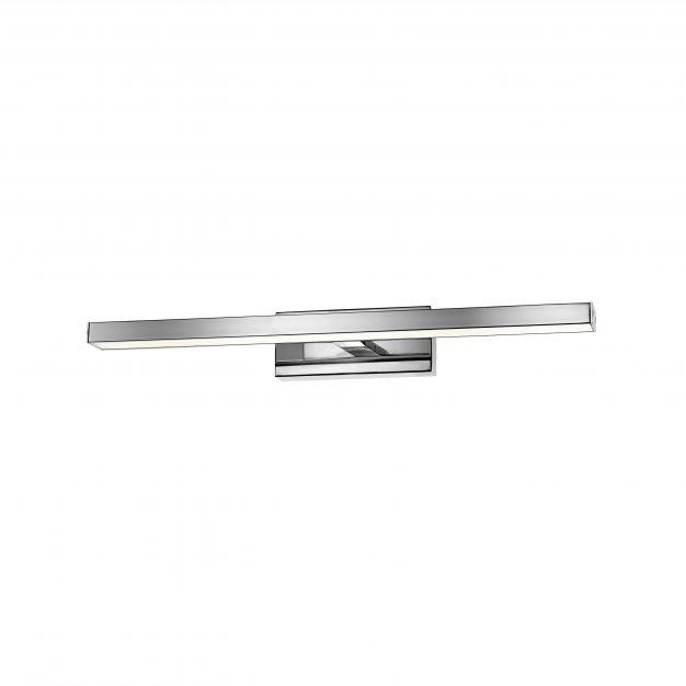 Nova Luce Modena - spiegellamp - 49 x 9 x 6,5 cm - 12W LED incl. - IP44 - chroom