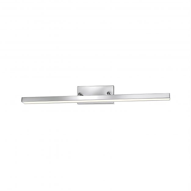 Nova Luce Modena - spiegellamp - 49 x 7,5 x 6,5 cm - 12W LED incl. - IP44 - chroom