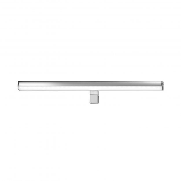 Nova Luce Vanese - spiegellamp - 49 x 6,5 x 6,5 cm - 12W LED incl. - IP44 - chroom