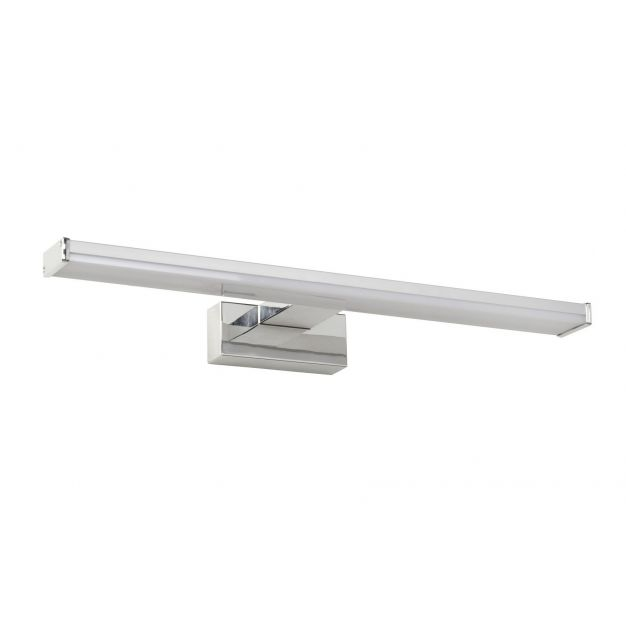 Lucide Onno - spiegelverlichting badkamer - 40 cm - 8W LED incl. - IP44 - mat chroom